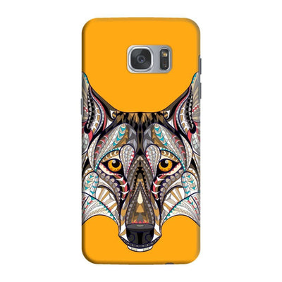 Wolf-The Pack People Slim Case And Cover For Galaxy S7 Edge - Yellow