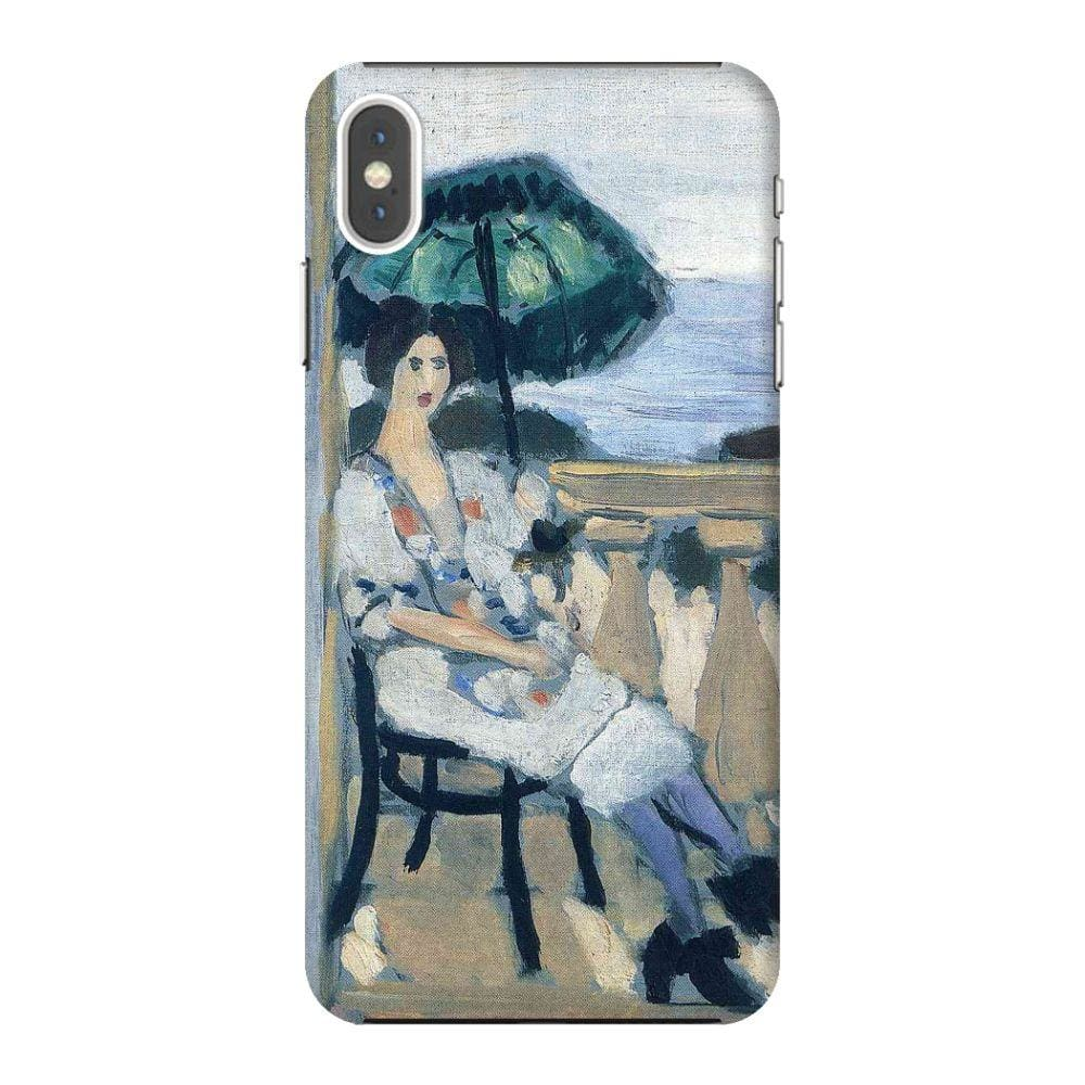WOMAN HOLDING UMBRELLA, 1919 Slim Case And Cover For IPHONE XS MAX