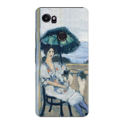 Woman holding umbrella 1919 Slim Case For Pixel 2 XL