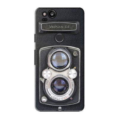 Yashica - 44 Vintage Camera DESIGNER Slim Case And Cover For Pixel 2