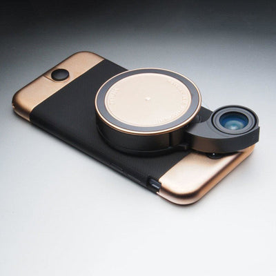Ztylus 4 in 1 iPhone lens case - limited edition rose gold