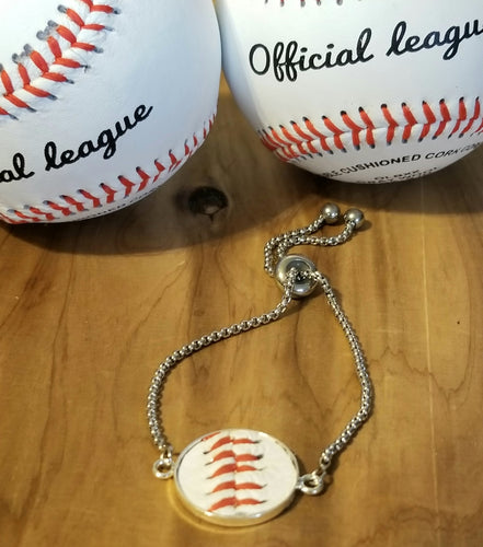 Baseball Leather Bracelet Gift