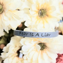 Load image into Gallery viewer, Engraved Buckle Cuff Bracelet Blush   ♡CHOOSE YOUR OWN WORDING ♡