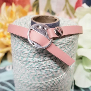 Engraved Buckle Cuff Bracelet Blush   ♡CHOOSE YOUR OWN WORDING ♡