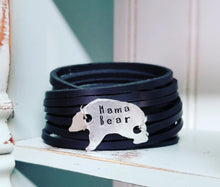 Load image into Gallery viewer, Double Wrap Shred Cuff  Mama Bear