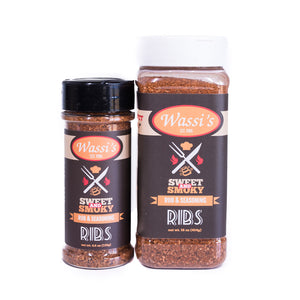 Wassi's Sweet & Smoky Rib Rub
