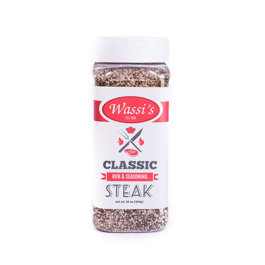 Wassi's Classic Steak Rub