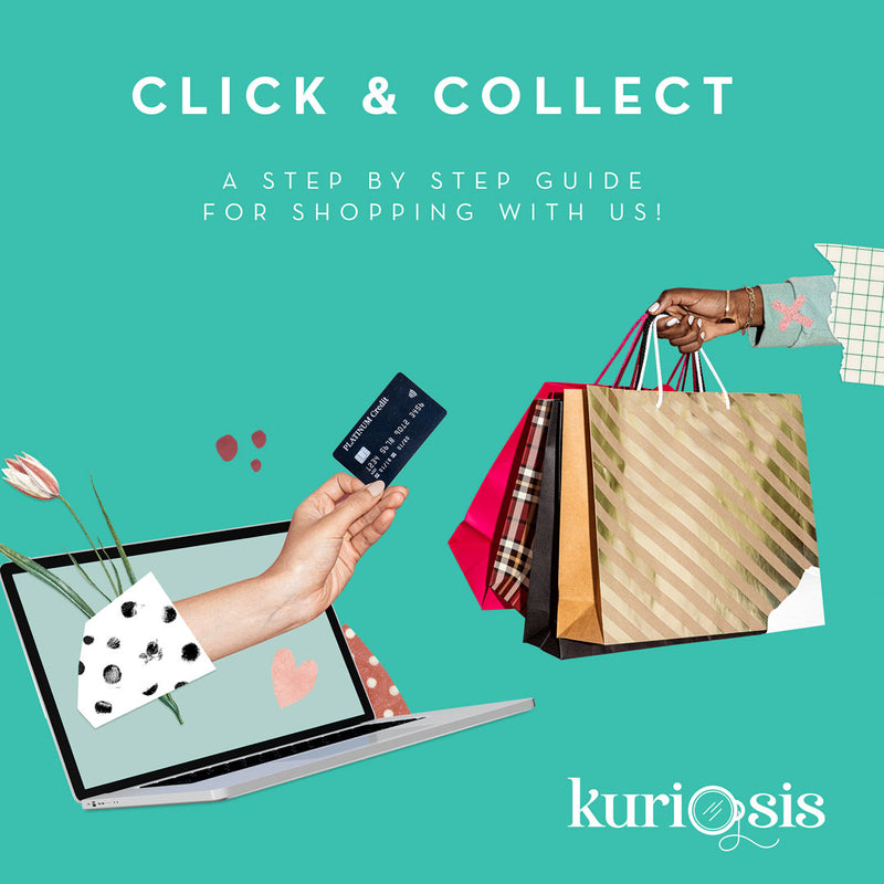 Click & Collect at KURIOSIS: Shop safely with us!
