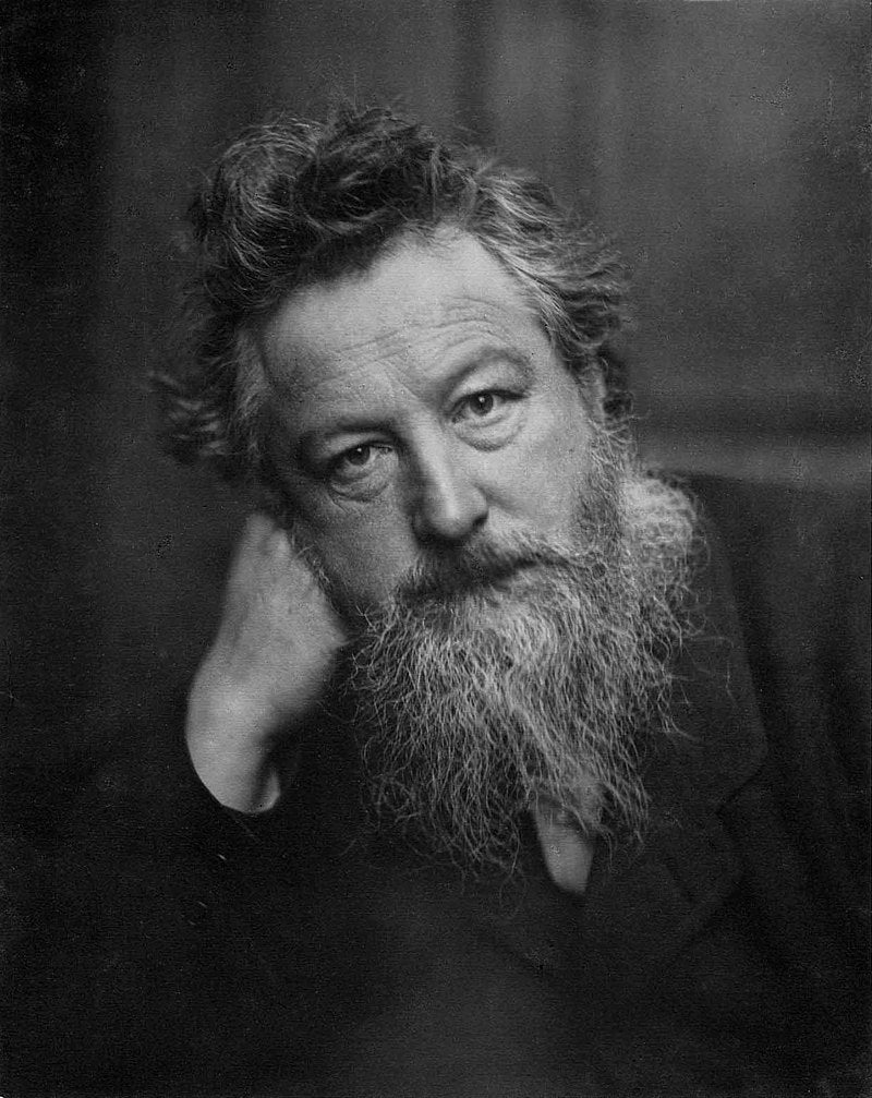 William Morris,  the Expression of Art as a Method of Social Protest and Outreach for All.