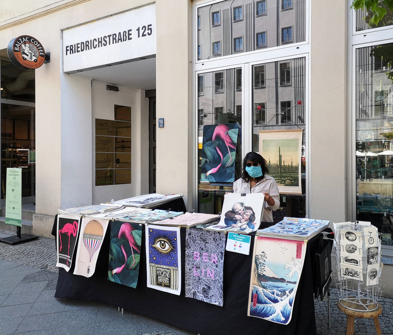 Pop up Poster Store in Berlin - Friedrichstrasse 125
