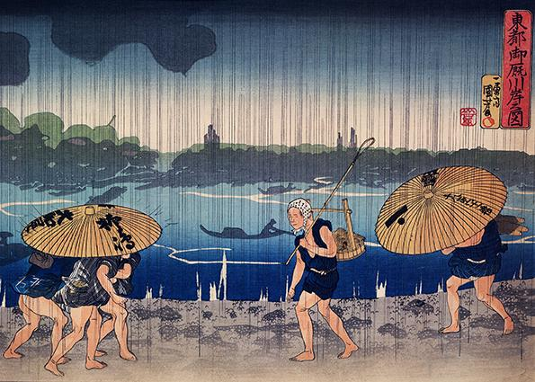 Who was Utagawa Kuniyoshi, the artist who inspired manga and Monet
