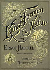 1904 cover of Kunstformen der Natur