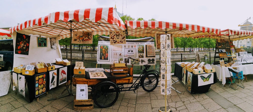KURIOSIS Vintage Prints from Berlin at the Berliner Kunstmarkt / Berliner Art Market, we are located directly across from Lustgarten