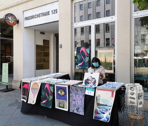 Pop up Poster Shop in Berlin