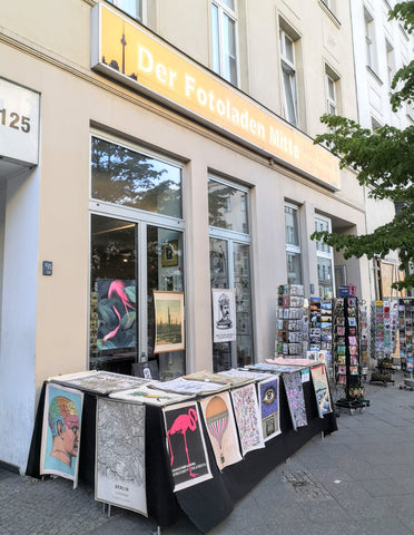 KURIOSIS - Pop Up Poster Store at Friedrichstrasse 125 in Berlin