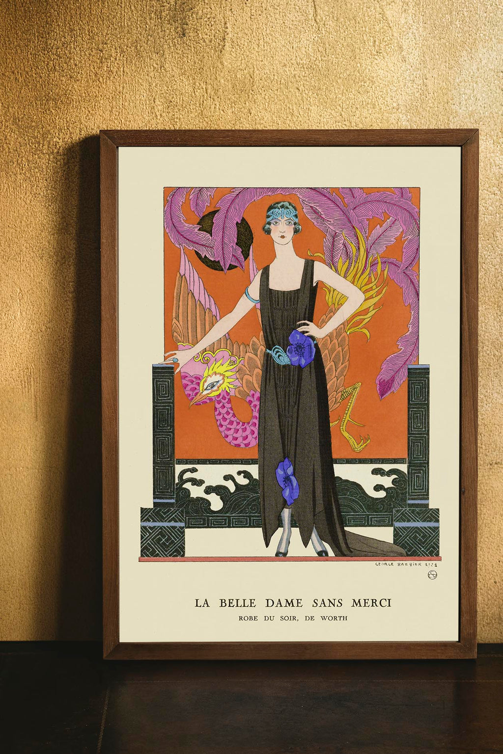Fashion La Belle Dame Sans Merci Poster