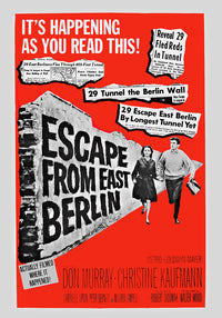 Film - Escape from East Berlin Vertical - Kuriosis Vintage Prints