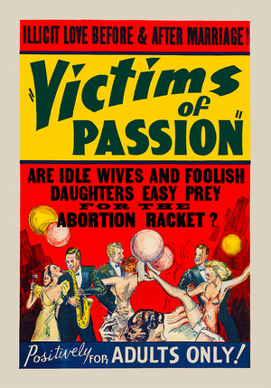 Film - Victims of Passion - Kuriosis Vintage Prints