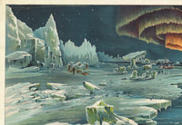 Arctic Zone Poster - Vintage Science Illustration - Kuriosis Vintage Prints