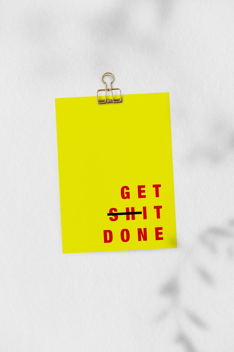 GET SHINE DONE Art Print by KURIOSIS