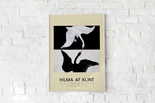 Hilma Af Klint Exhibition Poster The Swan Nr 1