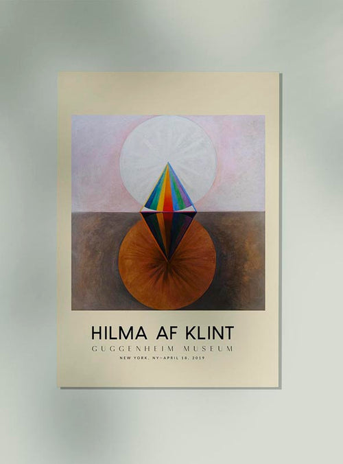 Hilma Af Klint Exhibition Poster The Swan Nr 12