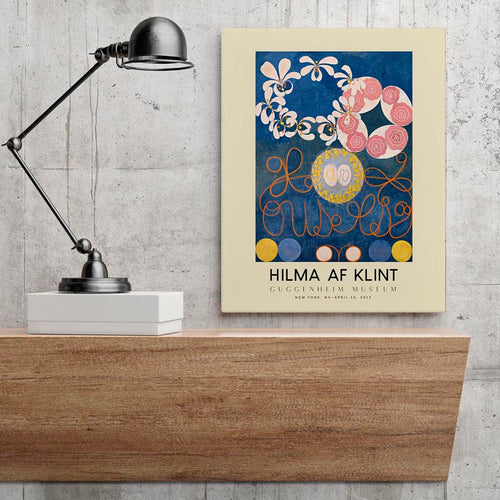 Hilma Af Klint Exhibition Poster The Ten Largest Nr 1