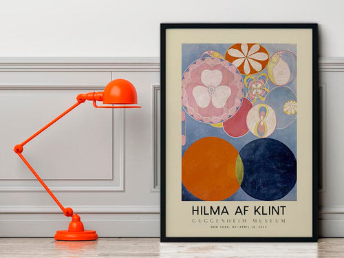 Hilma Af Klint Exhibition Poster The Ten Largest Nr 2