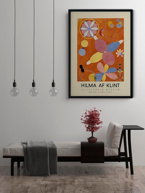 Hilma Af Klint Exhibition Poster The Ten Largest Nr 4