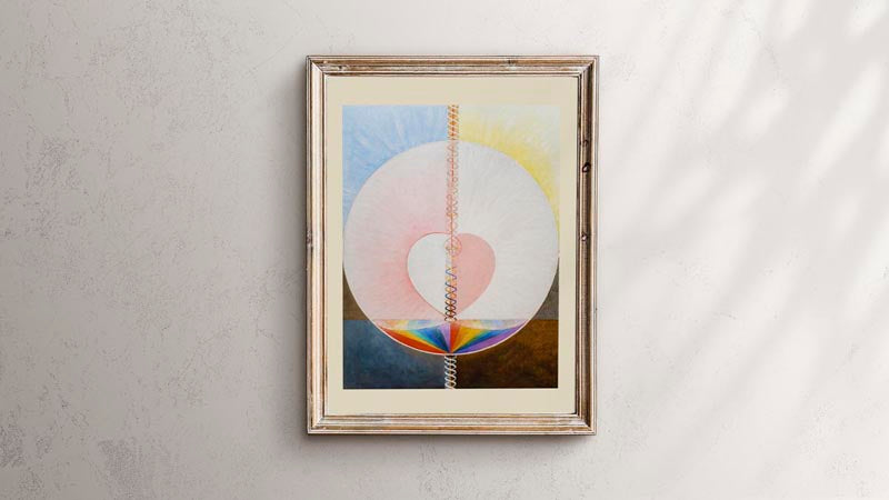 The Dove by Hilma Af Klint