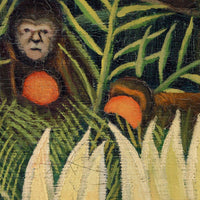 Monkeys and Parrot by Henri Rousseau