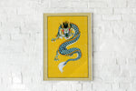 Japanese Dragon Style Poster