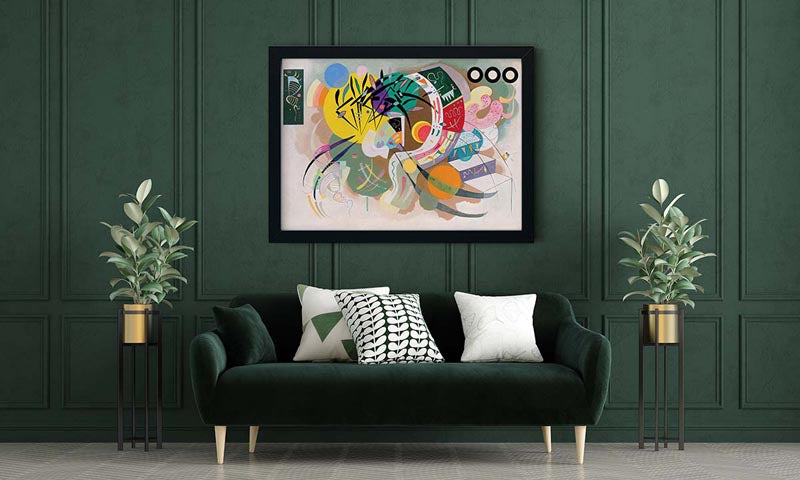 Dominant Curve by Wassily Kandinsky Poster