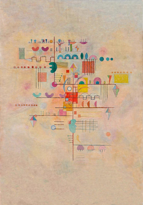 Graceful Ascent by Wassily Kandinsky Poster
