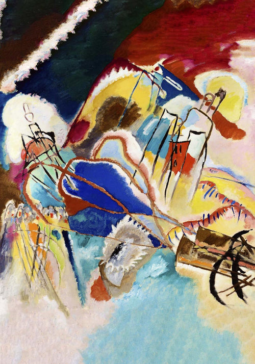 Improvisation No. 30 by Wassily Kandinsky Poster