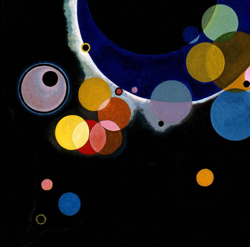 Several Circles by Wassily Kandinsky Poster