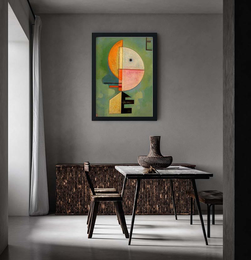 Upward by Wassily Kandinsky Poster