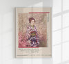 Geisha and Cherry Blossom by Ogawa Kazumasa Exhibition Poster