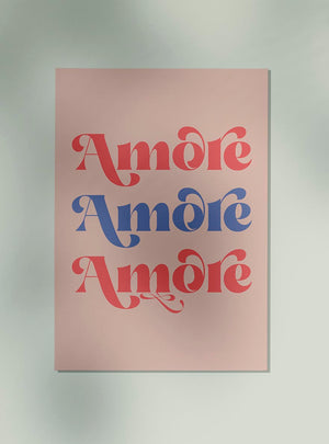 Amore Art Poster