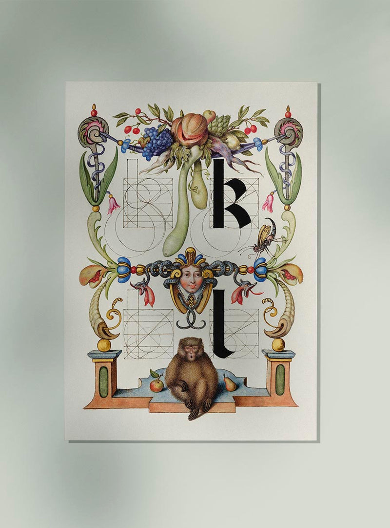 Guide for Constructing the Letters K and I by Georg Bocskay.