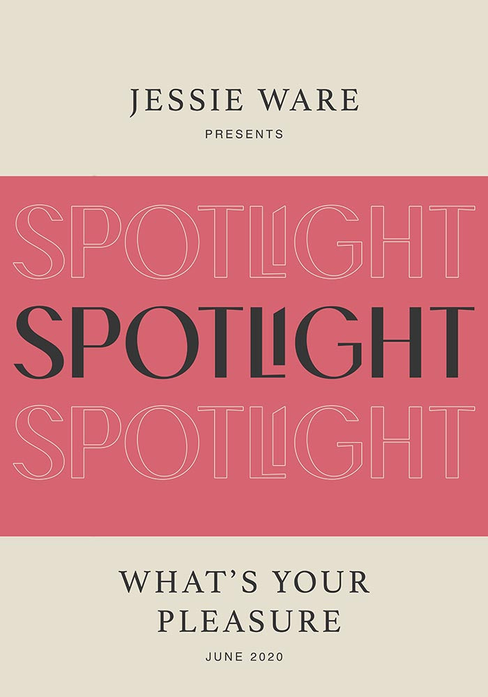 Spotlight by Jessie Ware Music Art Poster by KURIOSIS