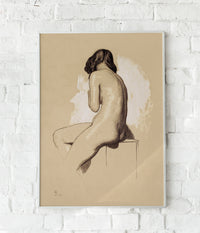 Vintage nude art Poster by Holman Hunt