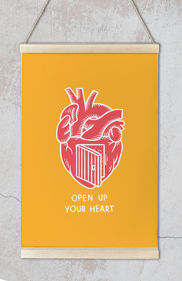 Open your heart - Kuriosis Vintage Prints