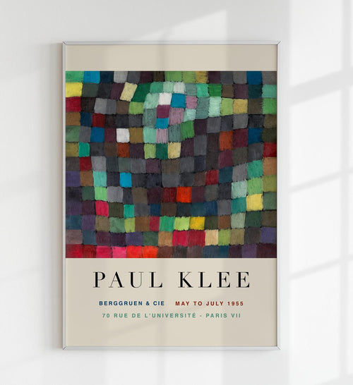 """May Picture"" by Paul Klee Art Exhibition Poster by KURIOSIS"