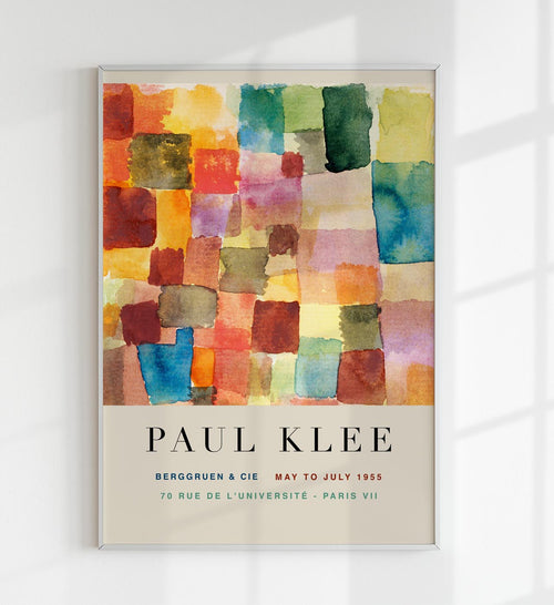 """Untitled"" by Paul Klee Art Exhibition Poster b KURIOSIS"
