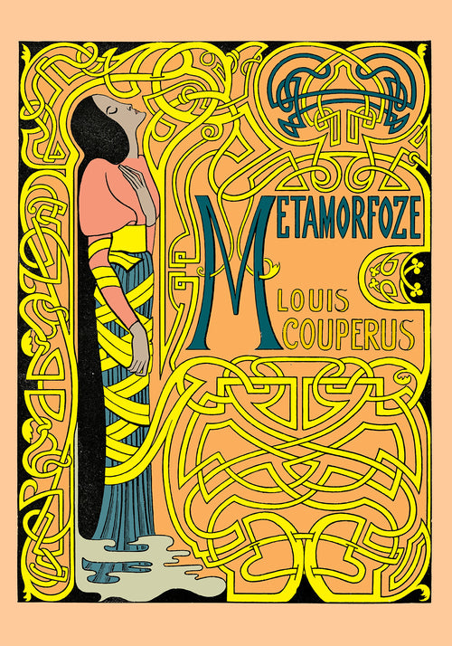 Metamorfoze Colored Vintage Poster by Jan Toorop