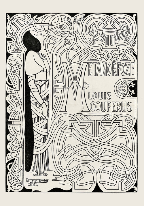 Metamorfoze Vintage Poster by Jan Toorop