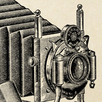 Antique Camera Poster by KURIOSIS