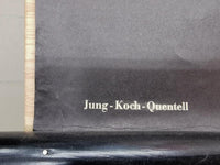 "Vintage Pull Down School Chart ""Kreuzspinne"" from Jung-Koch-Quentell from the 1960s"