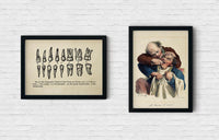 The Dentist Vintage Set of 2 Prints